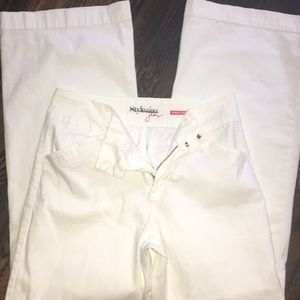 Style &Co Wide Leg White Jeans Size 10